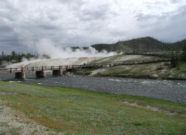 Yellowstone National Park - Biscuit Basin