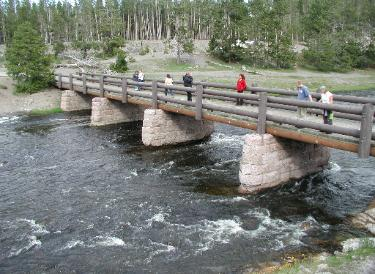 Yellowstone National Park - Biscuit Basin Bridge