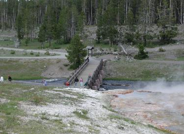 Yellowstone National Park Biscuit Basin