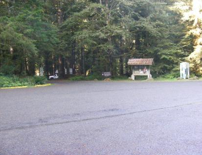 Staircase Campground Entrance  Olympic National Park