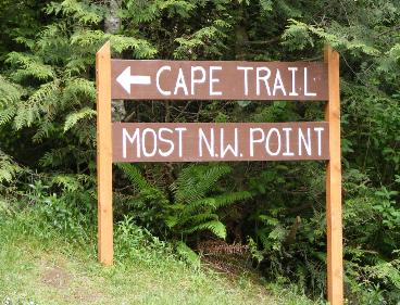 Cape Trail Sign