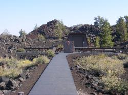 Craters of the Moon Campground Amphitheater