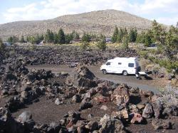 Craters of the Moon campsite 19