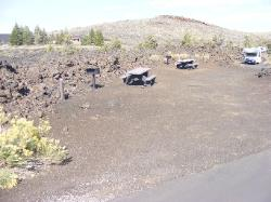 Craters of the Moon campsite 27 & 28