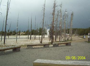 Geyser Basin Boardwalk Trailhead