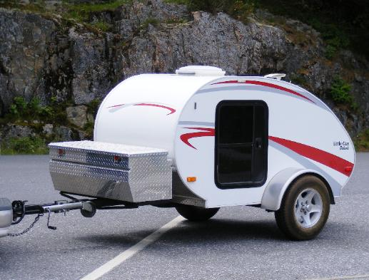 Little Guy Teardrop Camping Trailer