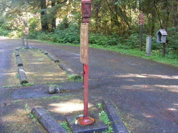 Olympic National Park  - Rialto Beach - Mora Campground dump station