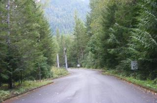 Newhalem Campground Entrance