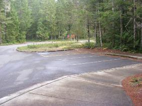 Newhalem Campground Registration Parking