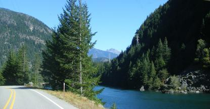 Senic Route 20 thru North Cascades