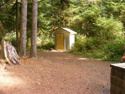 Staircase Campground Vault  Rest Room - Olympic National Park