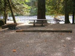 Staircase Campground Site 11 - Olympic National Park